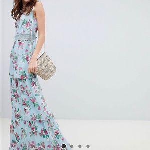 Maxi tiered dress